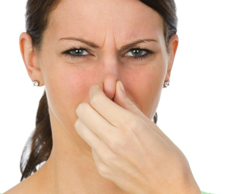 Bad smell in nose