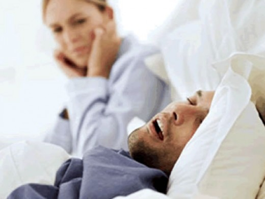 Snoring can cause bad smell in the nose