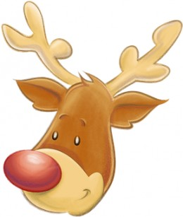 Rudolph the red-nosed reindeer goes down in history
