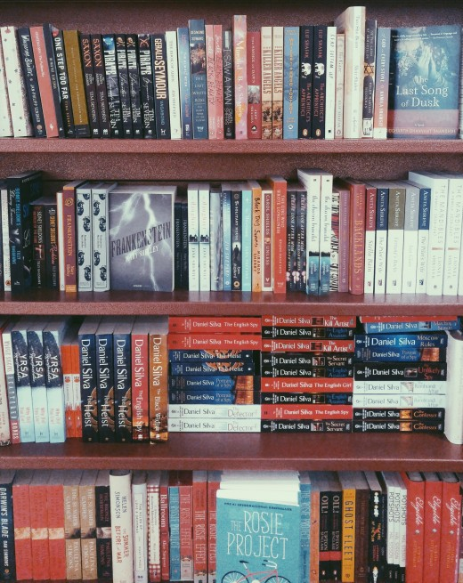 Books on books on books