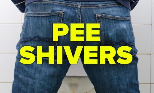 Pee shivers