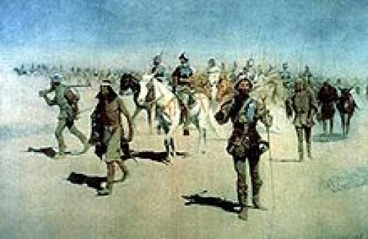 Remington's portrayal of Coronado at Quivara.