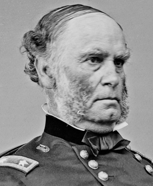 Commander of the Union Army of the Southwest General Samuel R. Curtis at fifty-six he thought his military career was over but the Civil War changed all that.