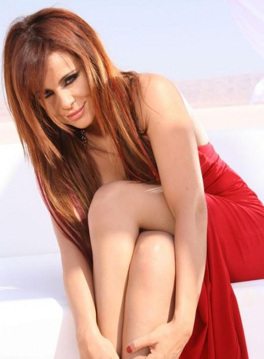 Lebanese musician and actress Carole Samaha