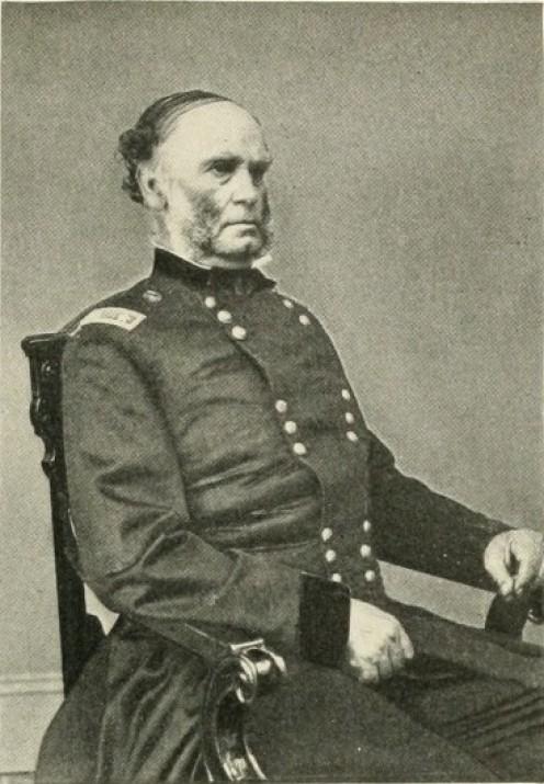 Union General Samuel Curtis the victor at  Pea Ridge.