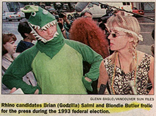 "Brian ""Godzilla"" Salmi or today known as Sa Tan in his infamous Godzilla costume."