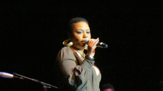 "Carol Riddick, performed the memorable song ""At Last."""