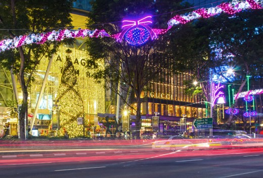 Orchard Road Christmas Light-Up 2015