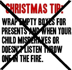 Why I Won't Be Burning My Child's Gifts This Year