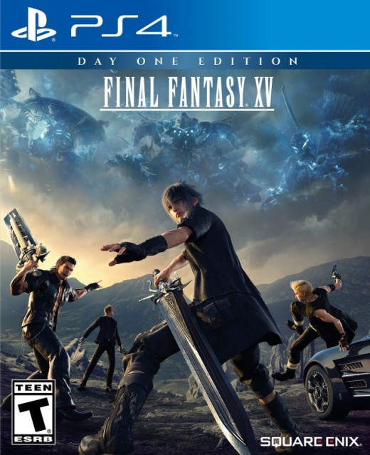 Final Fantasy XV Boxart (PS4 Day One version)