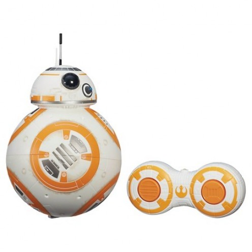Hasbro's remote control BB-8 has a wireless range of roughly 10 feet.