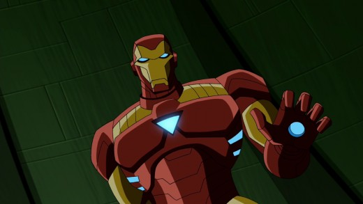 the avengers earth's mightiest heroes iron man