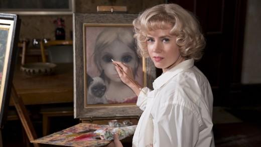 Amy Adams portraying Margaret Keane