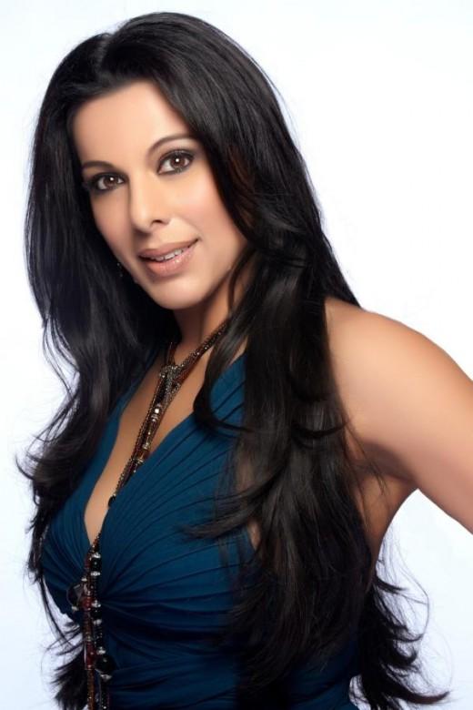 Indian actress Pooja Bedi
