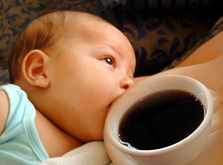 Coffee and infants