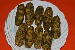 Healthy Snacks: Easy Recipes: Potato and Spinach Kebabs:
