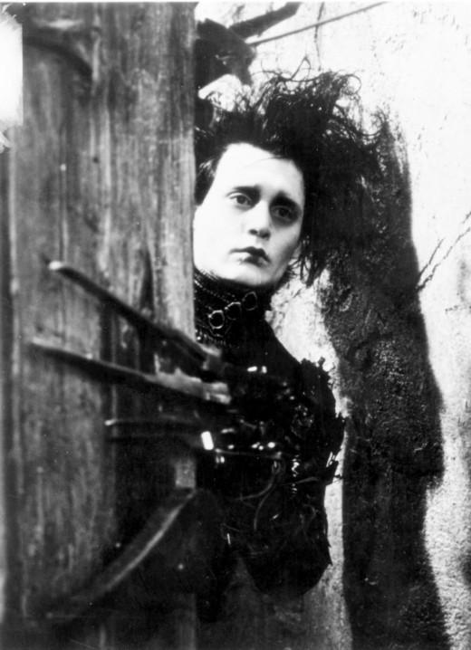 Edward Scissorhands made even the preppiest girls go goth.