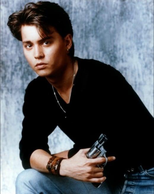 Johnny Depp in 21 Jump Street.