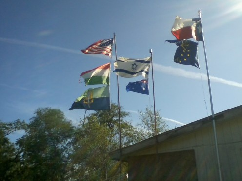 Help friends and Family Cross the Border the Legal Way. Send Your State or Country Flag Here.