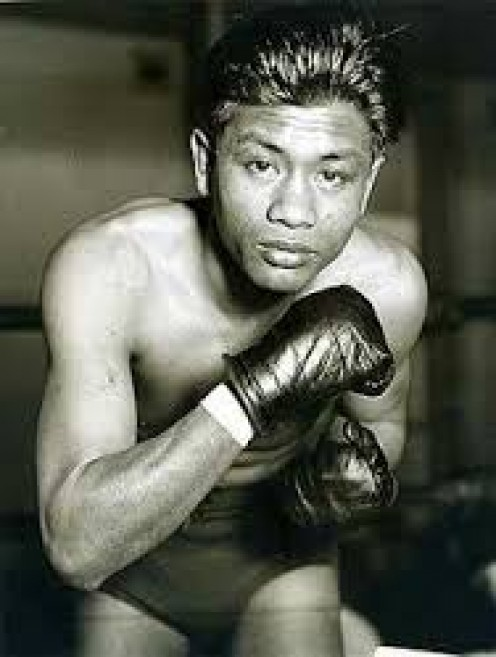 """Dado"" Marino fought as a Flyweight and a bantamweight compiling a record of 57-14-3 along the way."