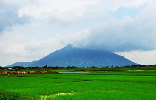Tay Ninh looks idyllic in nature