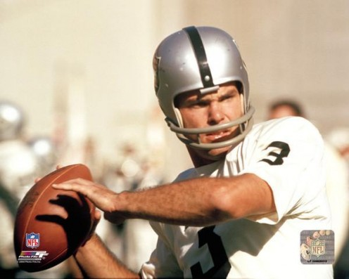 Daryle Lamonica as  Oakland Raiders QB was  nick named the Mad Bomber