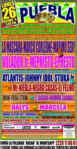 Not Another Live CMLL Puebla Running Diary