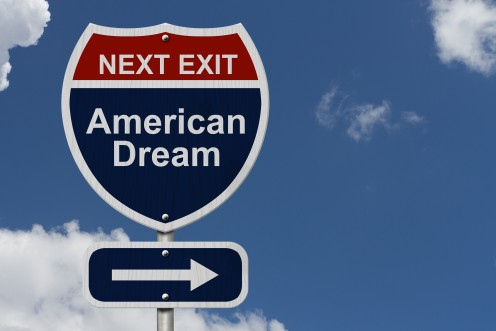 It may be much tougher these days to get to that American Dream but it is still a slight possibility even in 2016.