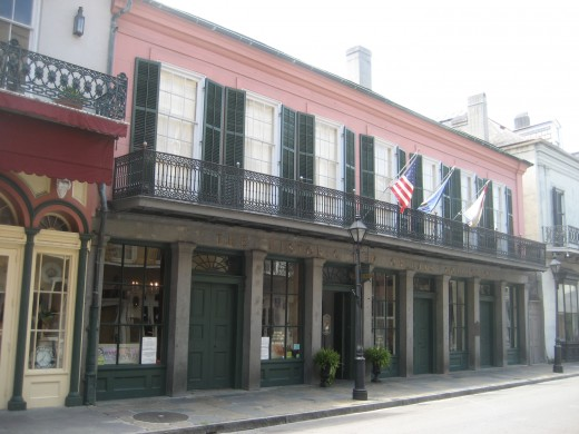 Historic New Orleans Collection museum on Royal Street