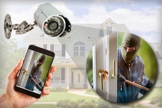 CCTV helps you monitor what's happening in a given area.