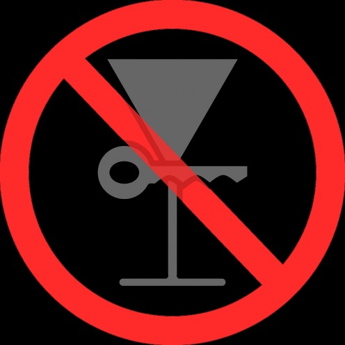 Many establishments provide FREE soft drinks all evening to the designated drivers