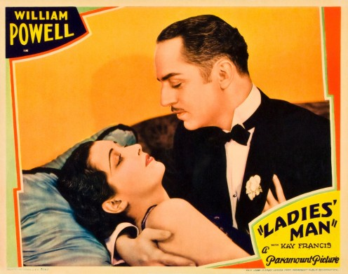 William Powell in  1931 film Ladies Man