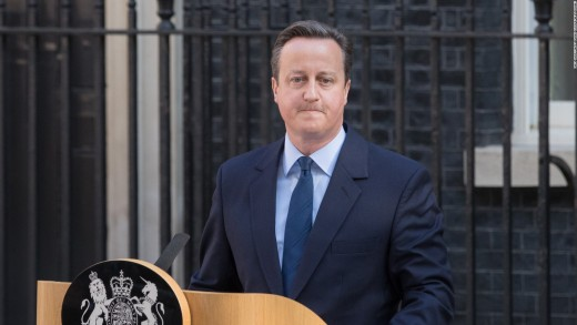 David Cameron (Former PM) - Remain Campaign