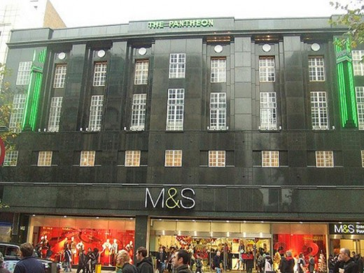 Marks and Spencer on Oxford Street