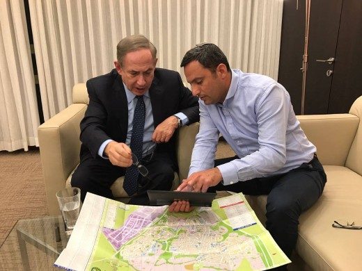 Netanyahu discussing plans