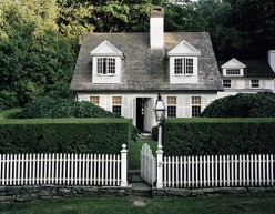 White Wash: Behind Picket Fences