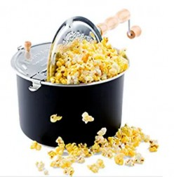 Minnesota Cooking: Popcorn - Using the Popcorn Poppers