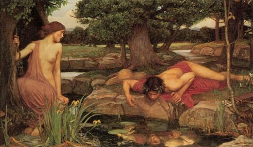 Echo And Narcissus, John William Waterhouse