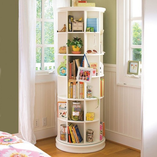 Column bookcase