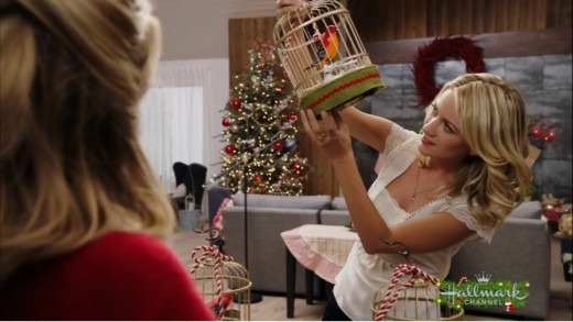 Oh, Cynthia's one of those people that loves those annoying noisy Christmas decorations... that's cool.