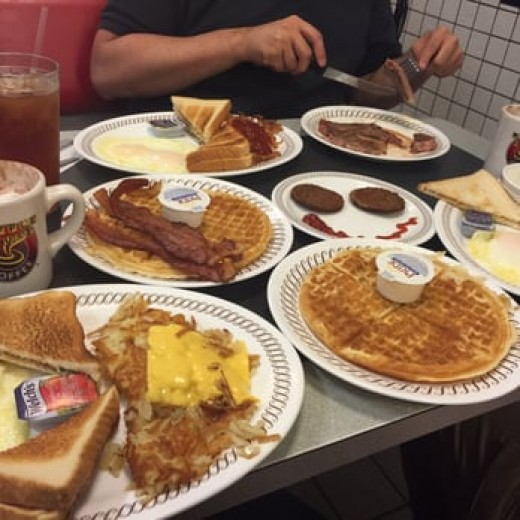 Food at Waffle House
