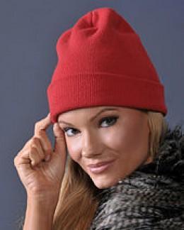 Knit cap to keep head warm