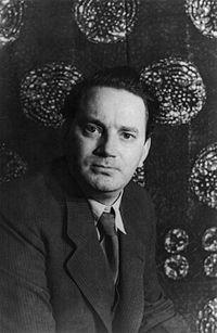 Thomas Wolfe shown in 1930.