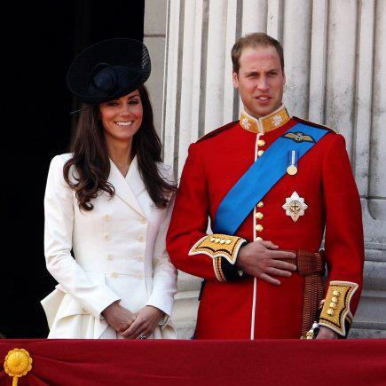 Prince William, Duke of Cambridge with Kate Middleton