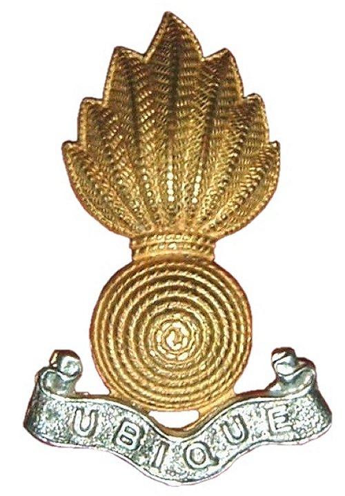 "Royal Artillery bade: ""Ubique"" where Ubi's name came from"
