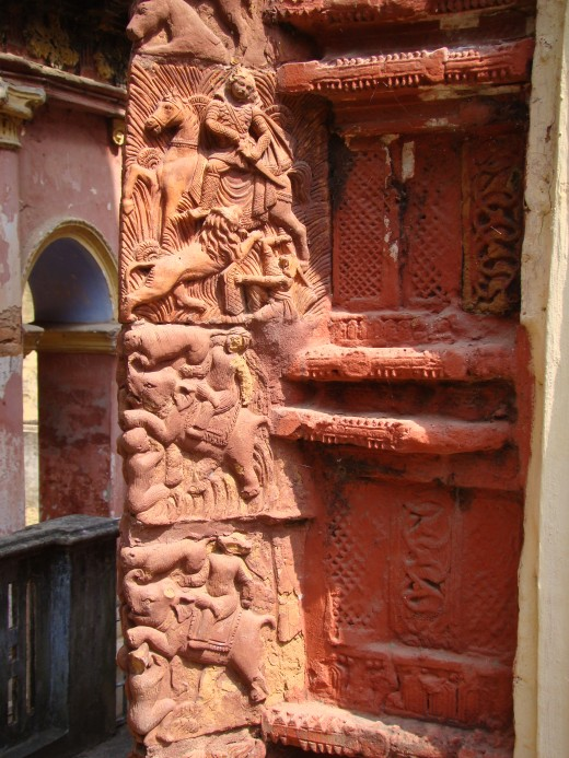Mrityulata panel 1 : Gopinath temple; Dashghara