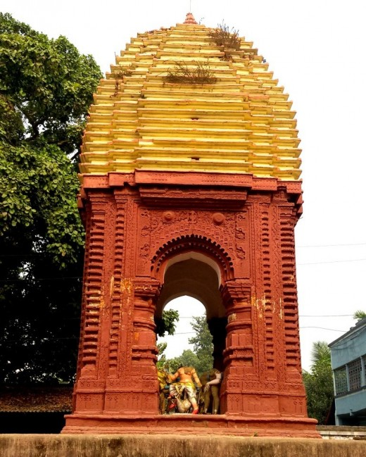 'Raas Mancha', Nandadulal Jiu temple, Gurap