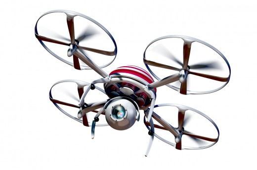 Spying Drone in My Kitchen Analyzing the  Recipe of My Food for Home Security