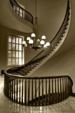 Metal Spiral Staircases and Custom Design Staircases by The Iron