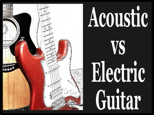 acoustic vs electric guitar difficulty difference and sound spinditty. Black Bedroom Furniture Sets. Home Design Ideas